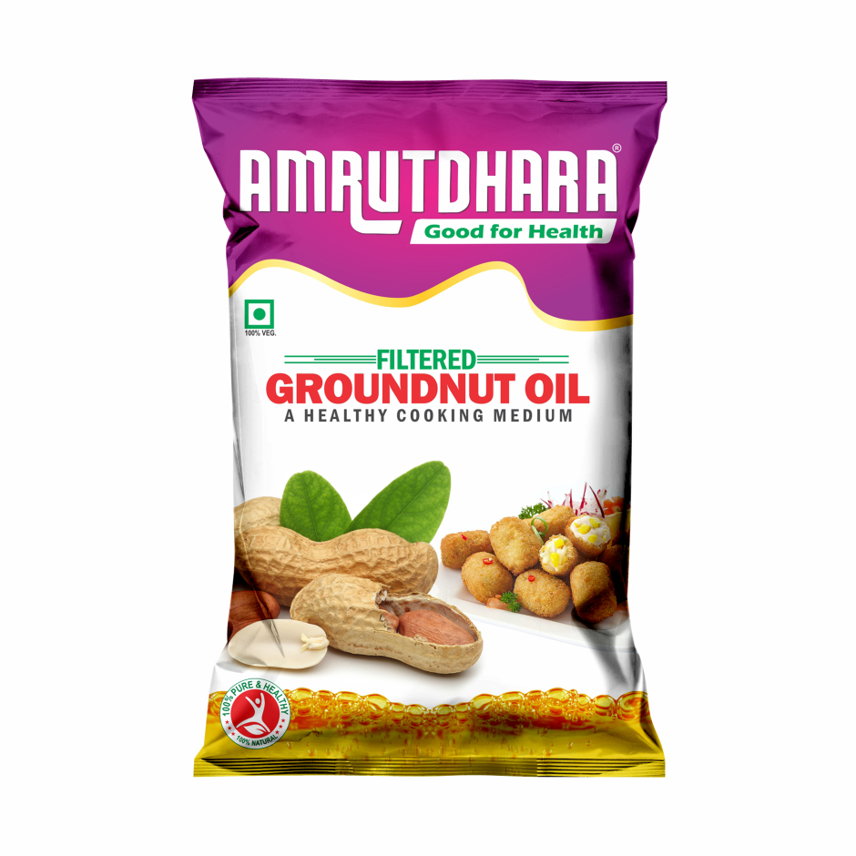 Amrutdhara Groundnut Oil